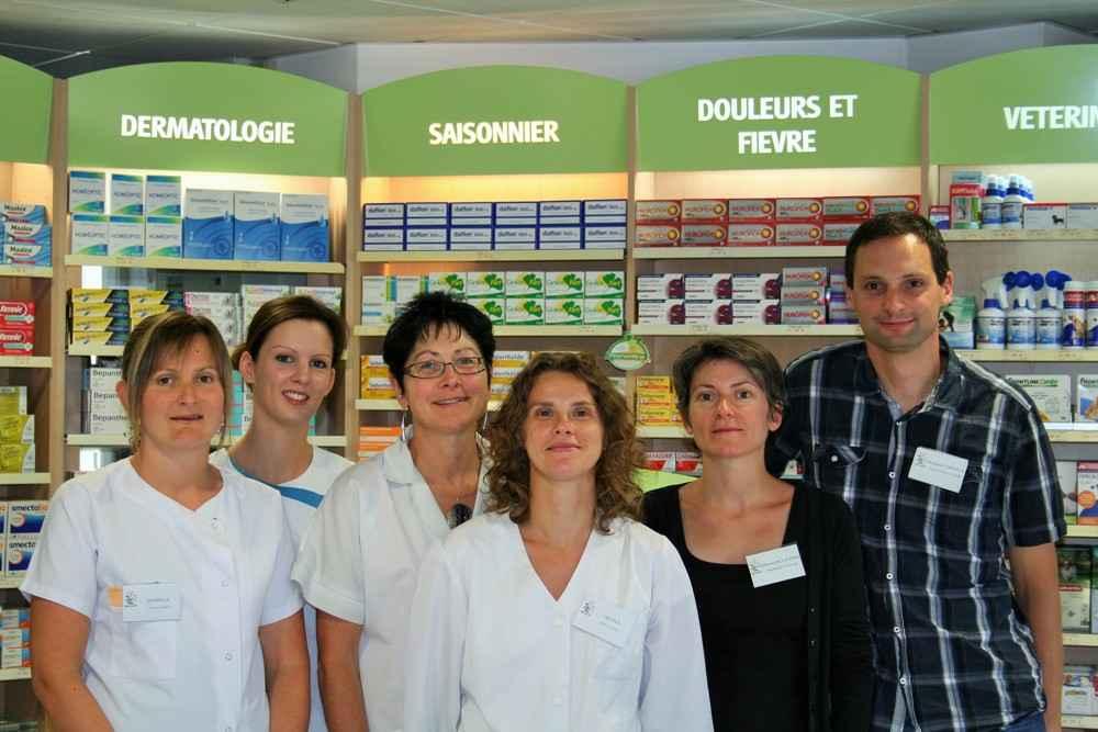 Equipe des pharmaciens et préparateurs de la Pharmacie de Bourneuf en Retz